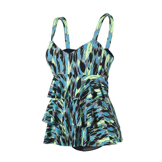Dolfin Ruffle Tier One Piece