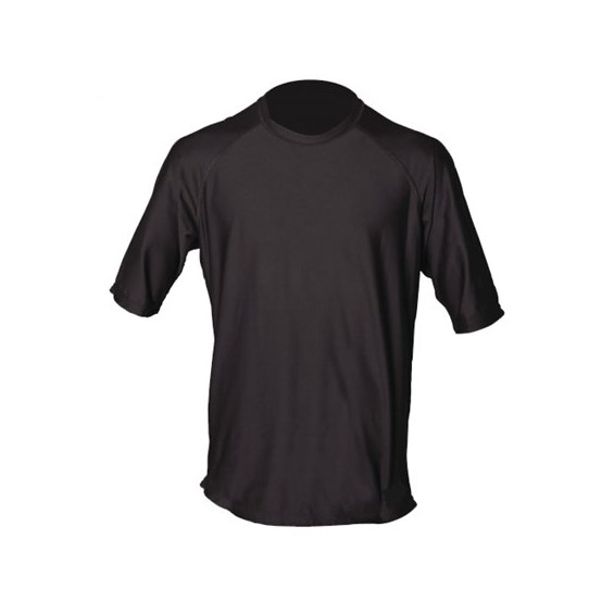 Baytown_Black_Short_Sleeve_Rash_Guard