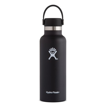Hydro-Flask-18-oz-Standard-Mouth-Black