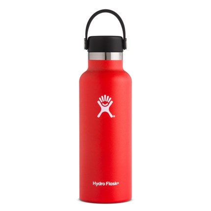 Hydro-Flask-18-oz-Standard-Mouth-Lava